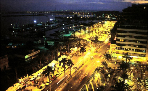 Torrevieja at night